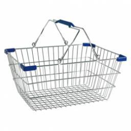 Металлические покупательские корзины
