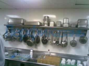 Полки настенные для кухни (нерж.)