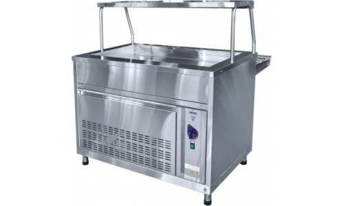 Прилавок холодильныйABAT АСТА ПВВ(Н)-70КМ-02-НШ