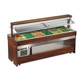 Салат бар холодильный TANGO MAXI 1400RF (с 2-мя полками)
