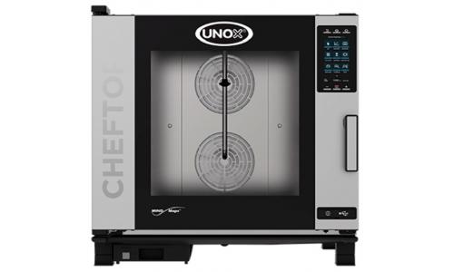 Пароконвекционная компактная печь Unox XEVC-0621-GPR (Plus Gas)