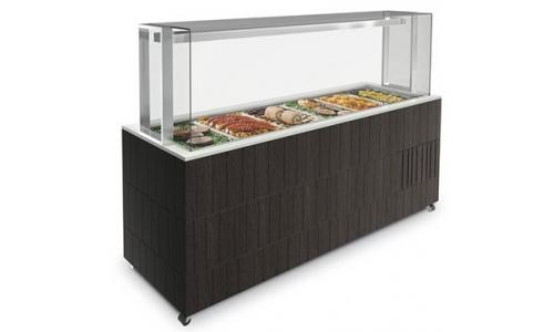 Enofrigo Doge Servito 1400 RF (без полок) - Салат-бар холодильный