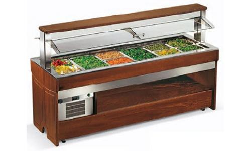 Enofrigo Tango  Maxi 1400RF (без полок) - Салат-бар холодильный