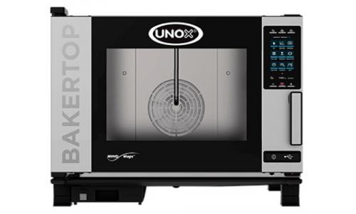 Пароконвекционная компактная печь Unox XEBC-04EU-EPR (Plus)