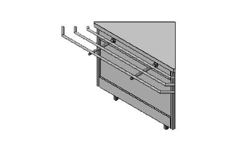 Секция поворотная внешняя  СП90-1