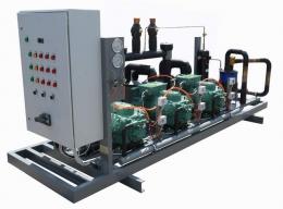 Компрессорные агрегаты на базе полугерметичных компрессоров Bitzer