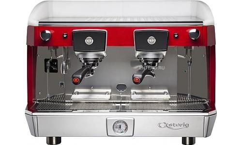 Кофемашина Astoria (C.M.A.) Core600 AEP/1 сталь/красный/белый