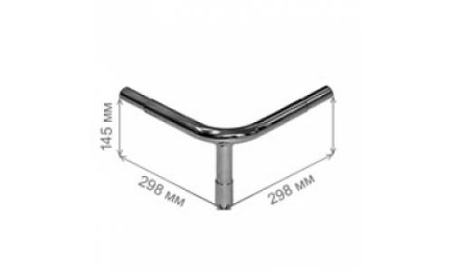 Ограждение от тележек - угловая стойка  / GD 1200
