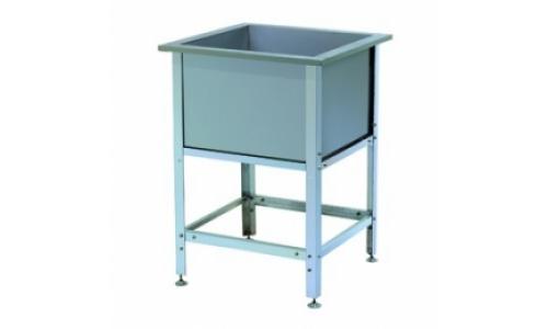 Ванна моечная ВСМ 1/430 (1/530, 1/600, 1/700), емкость-нержавеющая сталь, каркас-оцинковка