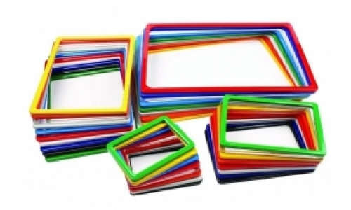 Пластиковая рамка разных форматов
