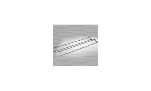 Комплект двухспицевых шампуров для мелкопорционных продуктов (6 шт) для гриля МК-21