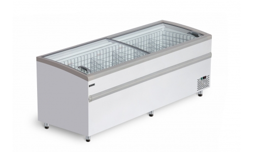 Морозильная бонета BFG 2500 с гнутым стеклом