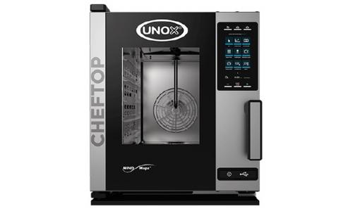 Пароконвекционная компактная печь Unox XECC-0513-EPR (Plus)