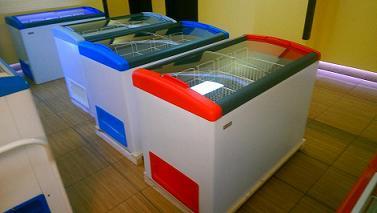 Новая серия ларей GELLAR завода Frostor